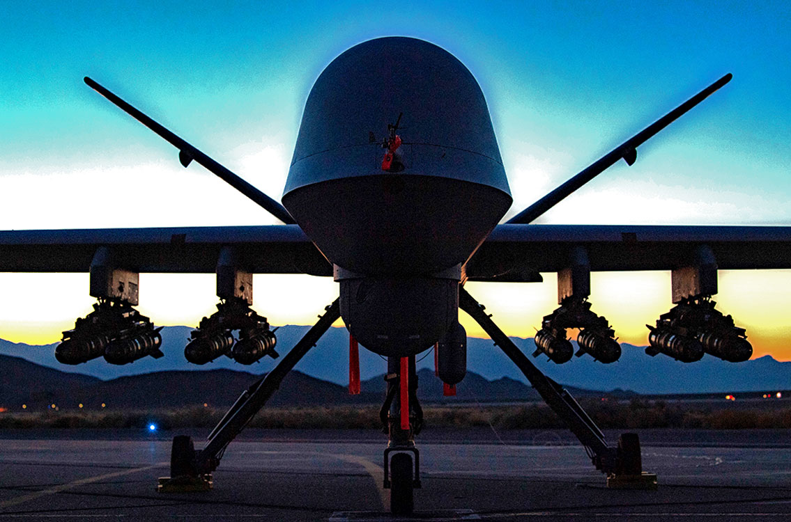 Drone at Dusk